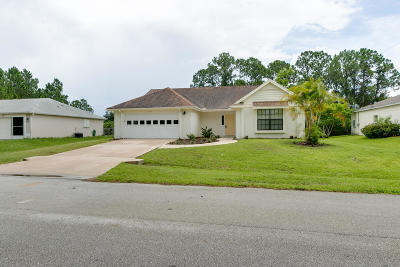 Palm Bay Single Family Home For Sale: 1040 Tide Road SE