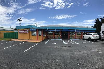 Cape Canaveral Commercial For Sale: 7802 N Atlantic Avenue N