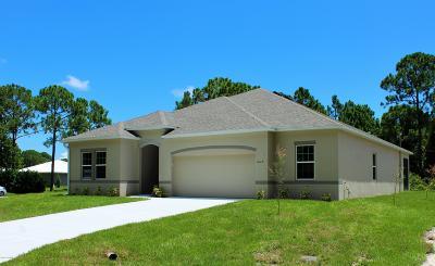 Palm Bay Single Family Home For Sale: 1029 Duxbury Road SE