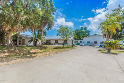Merritt Island Multi Family Home For Sale: 1555 Dalbora Road