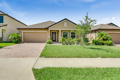 Cocoa Single Family Home For Sale: 5285 Brilliance Circle