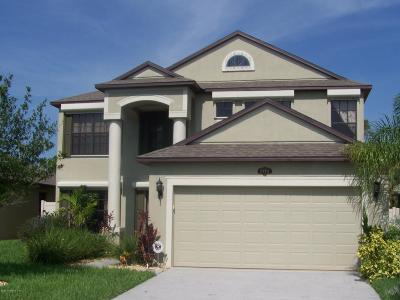 Merritt Island Single Family Home For Sale: 2532 Glenridge Circle