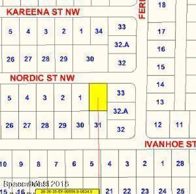 Palm Bay Residential Lots & Land For Sale: 1108 Nordic Street NW