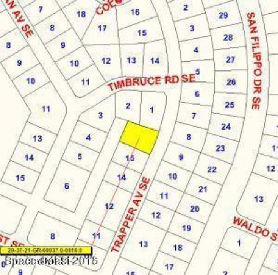 Palm Bay Residential Lots & Land For Sale: 1902 Trapper Avenue SE