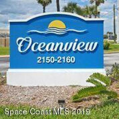 Satellite Beach, Port Canaveral, Melbourne Beach, Cape Canaveral, Cocoa Beach, Indialantic, Indian Harbour Beach Condo For Sale: 2150 N Highway A1a #110