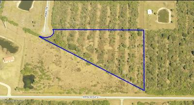 Palm Bay Residential Lots & Land For Sale: 9 Pony Trail