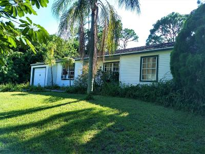 Palm Bay Single Family Home For Sale: 412 Calabria Avenue SE