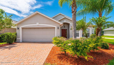Brevard County Single Family Home For Sale: 3462 Siderwheel Drive