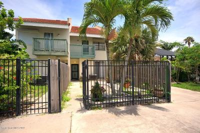 Melbourne Beach Townhouse For Sale: 3044 S Highway A1a #3