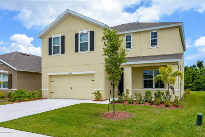 Melbourne Beach, Indialantic, Indian Harbour Beach, Satellite Beach, Cocoa Beach, Melbourne, West Melbourne, Vero Beach Single Family Home For Sale: 4380 Pagosa Springs Circle