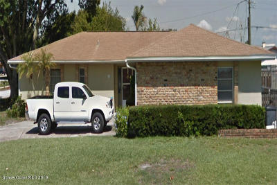 Brevard County Single Family Home For Sale: 1754 Guldahl Drive