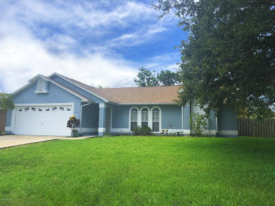 Palm Bay Single Family Home For Sale: 1312 Gilpin Street NW
