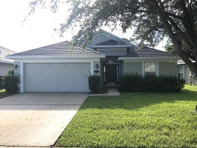 Titusville Single Family Home For Sale: 2051 Savannah Boulevard