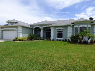 Merritt Island Single Family Home For Sale: 2758 Trails At Hidden Harbor