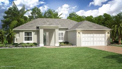 Palm Bay FL Single Family Home For Sale: $279,900