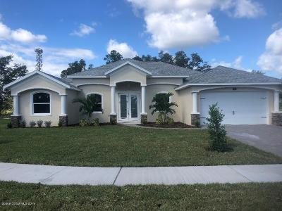 Palm Bay FL Single Family Home For Sale: $324,900