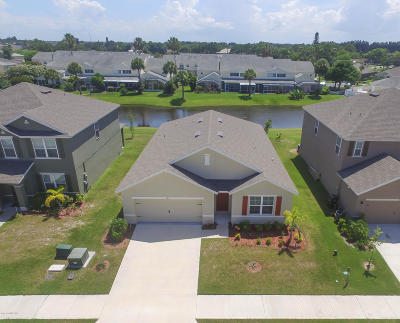 Rockledge Single Family Home Contingent: 1065 Swiss Pointe Lane