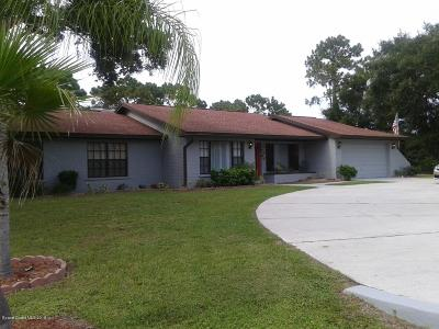Palm Bay FL Single Family Home For Sale: $239,900