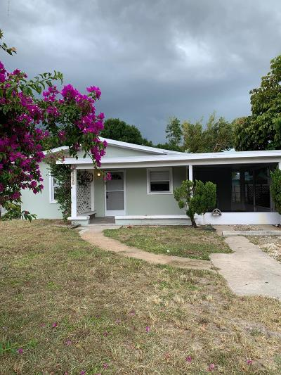 Vero Beach Single Family Home For Sale: 1316 17th Place