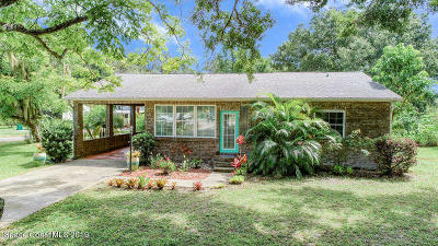 Mims Single Family Home For Sale: 3007 Folsom Road