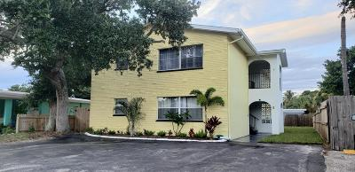 Cape Canaveral Multi Family Home For Sale: 246 Tyler Avenue