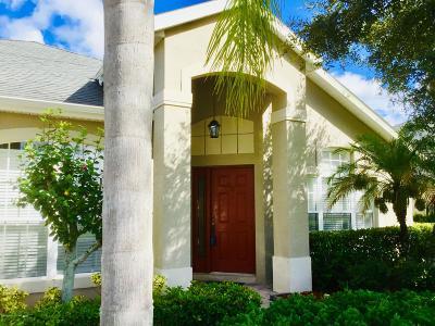 Palm Bay Single Family Home For Sale: 257 Brandy Creek Circle SE