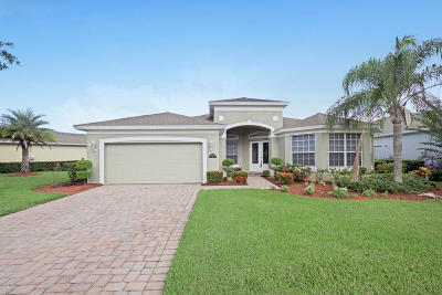Palm Bay Single Family Home For Sale: 366 Gardendale Circle SE