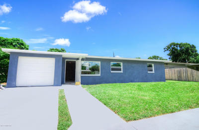 Melbourne Single Family Home Contingent: 2806 Tropic Road