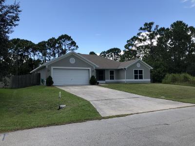 Palm Bay Single Family Home For Sale: 1126 Barbados Avenue SE