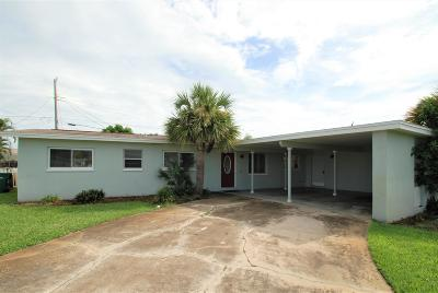 Indian Harbour Beach Single Family Home Backups: 124 Freddie Street