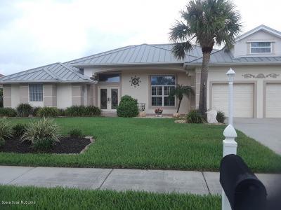 Melbourne Beach FL Single Family Home For Sale: $539,900