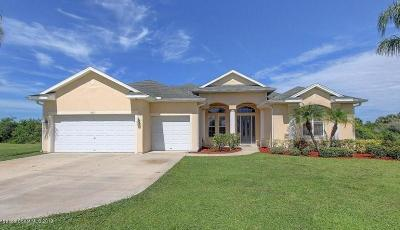 Rockledge Single Family Home For Sale: 957 Gulf Stream Court