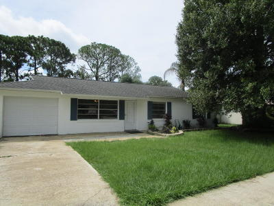 Cocoa Single Family Home For Sale: 3649 Crossbow Drive