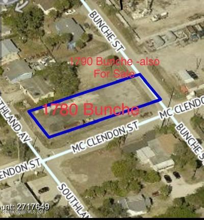 Melbourne Residential Lots & Land For Sale: 1780 Bunche Street