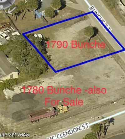Melbourne Residential Lots & Land For Sale: 1790 Bunche Street