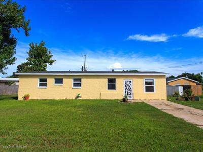 Merritt Island Single Family Home For Sale: 28 Indian Street