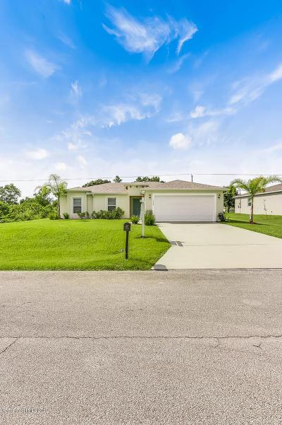 Palm Bay Single Family Home For Sale: 1448 SE Valerius Street SE