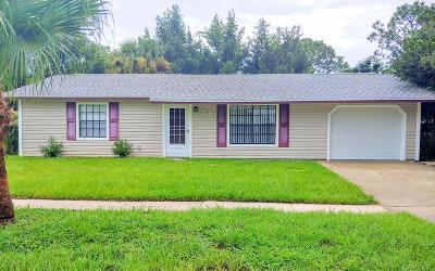 Cocoa Single Family Home For Sale: 5465 Fay Boulevard