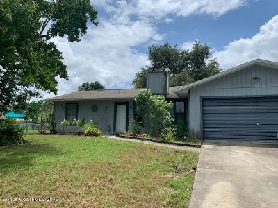 Palm Bay Single Family Home For Sale: 1198 Altamira Street NW
