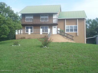 Cocoa Single Family Home For Sale: 3816 Deacon Way