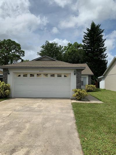 Cocoa Single Family Home For Sale: 2823 Dunhill Drive