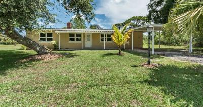 Vero Beach Single Family Home For Sale: 9080 86th Place