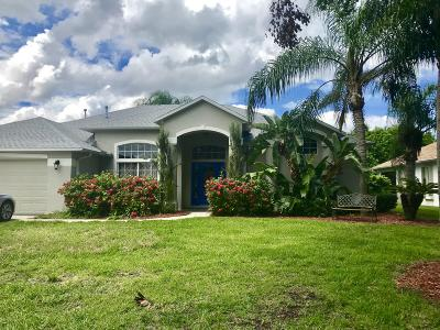Single Family Home For Sale: 3026 Pineda Crossing Drive