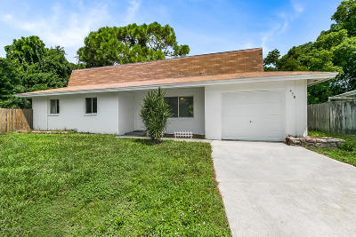 Brevard County Single Family Home For Sale: 438 Via Palermo Court