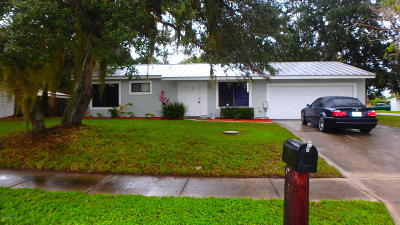 Palm Bay Single Family Home For Sale: 1065 Hulda Street NE