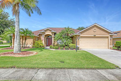 Brevard County Single Family Home For Sale: 4013 Chedington Lane