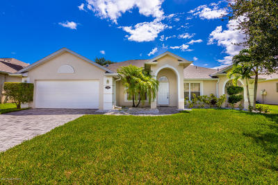 Brevard County Single Family Home For Sale: 1410 Tamango Drive