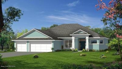Brevard County Single Family Home For Sale: Xxx West Pine Road
