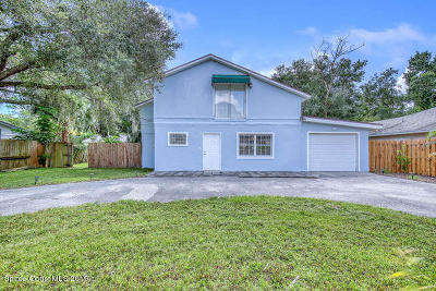 Melbourne Single Family Home For Sale: 1735 Marywood Road