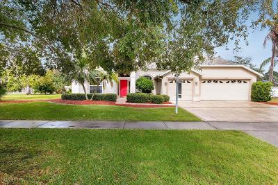 Merritt Island Single Family Home For Sale: 1240 Mercedes Drive